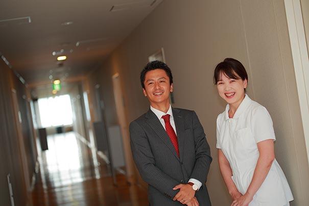 写真:静岡県立静岡がんセンター 水主副看護部長
