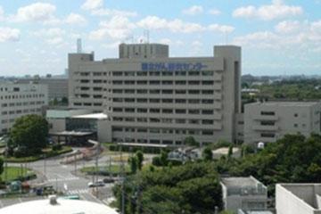 国立がん研究センター東病院・外観。