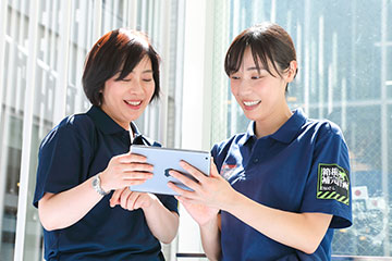 小山さんは今年からRST・RRT(呼吸療法サポートチーム・急変前に対応する初動チーム)室の主任を務める。「この人に相談すれば、きっと解決してくれると言われるような主任を目指したい」。