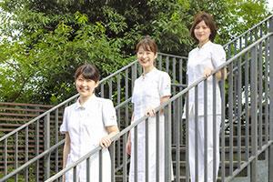 モデルとなる先輩に囲まれ、目標にしたい看護師が身近にいる環境。
