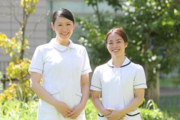 柳川 夏紀さん(左)