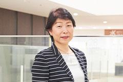 看護部長 小坂 智恵子さん